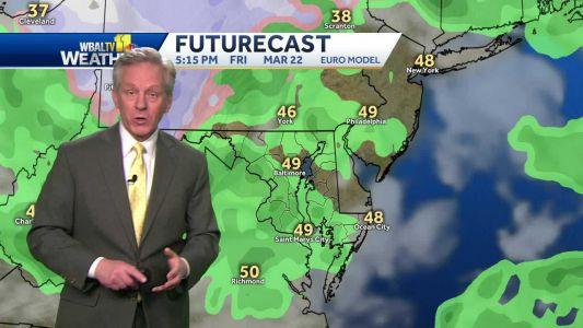 Wind, scattered showers expected for Friday