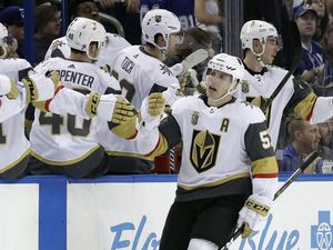 Fleury, Golden Knights beat Lightning 4-1
