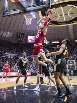 Purdue takes advantage of Indiana's shooting to end skid