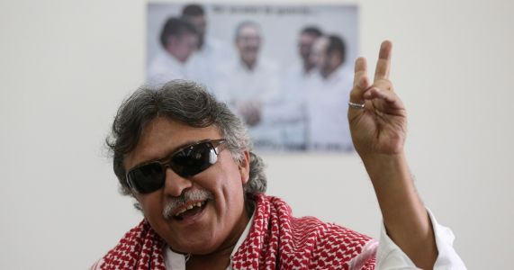 Ex-Rebel hospitalized in Colombia day after polemical arrest