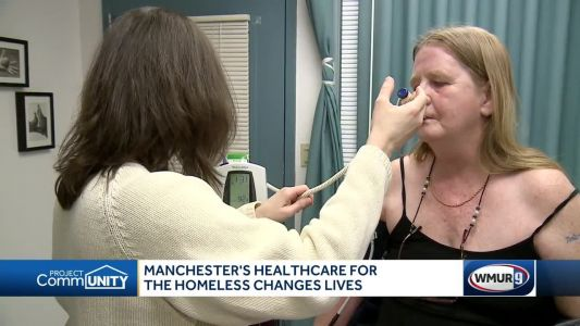 Clinic provides health care to homeless in Manchester