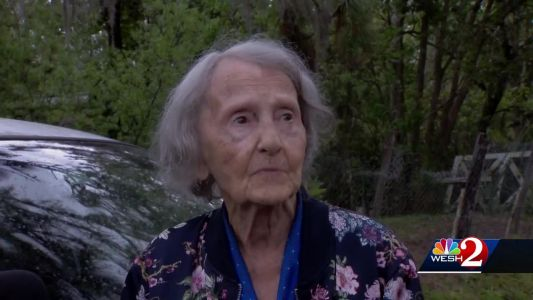 98-year-old woman escapes burning home: 'Life is beautiful'