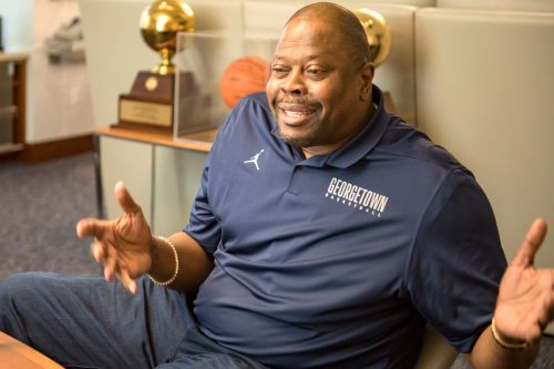 Patrick Ewing looking to return Georgetown to its former glory