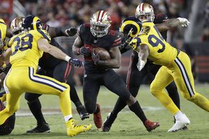 Rams use big offensive night to beat 49ers 41-39