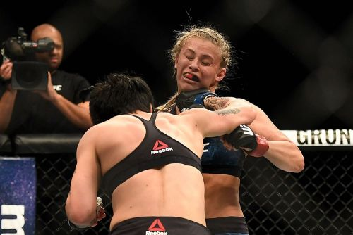 Jessica-Rose Clark ruled out of UFC Milwaukee fight with Andrea Lee