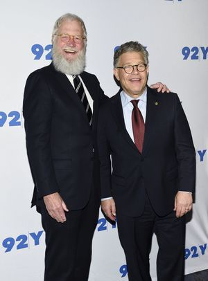 Franken edited out of Letterman tribute airing Monday
