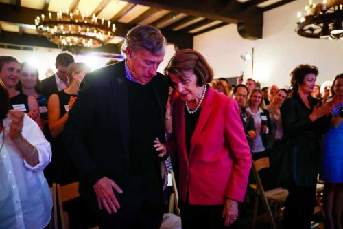 Dianne Feinstein's husband named in university admissions scandal
