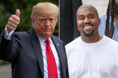 Trump calls Kanye West a 'genius' hours before White House meeting