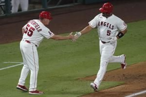 Pujols 2 HRs, passes Mays for 5th place, Angels beat Rangers