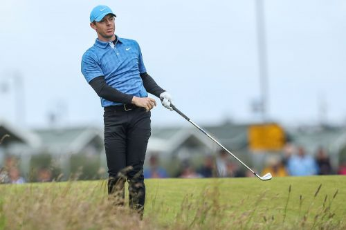 Rory McIlroy's brutal British Open start highlights jarring first round