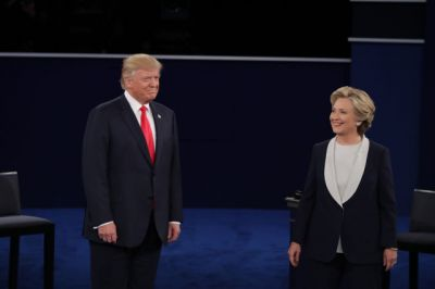 Donald Trump tries to rattle Hillary Clinton with more pre-debate surprises