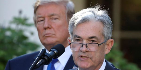 Trump is mad about Fed rate hikes, but he only has himself to blame for them