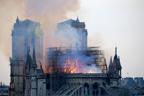 Workers rushing to salvage priceless Notre Dame cathedral art