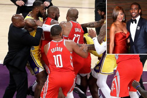 Chris Paul's wife, Rajon Rondo's girlfriend had altercation in stands