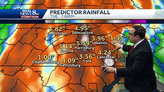 Daily Dose of Scattered Showers & Storms; Flooding Threat Continues