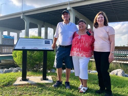 Historical marker commemorates reported alien abduction