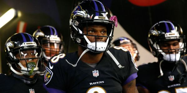 Lamar Jackson's first drive as starting QB was everything we expected