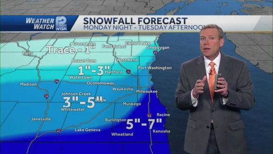 Videocast: Winter storm warning issued