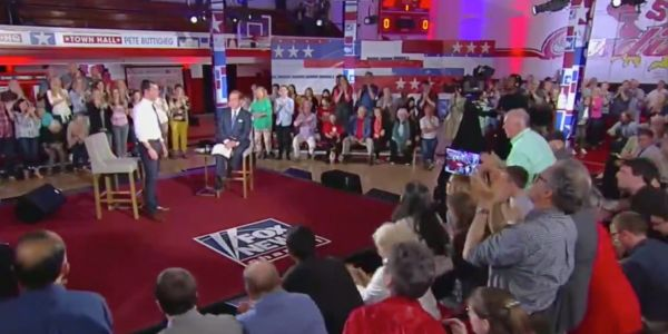 Trump freaked out at Fox News for hosting a live event with Pete Buttigieg, who got a standing ovation from the audience