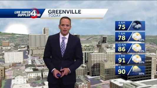 Videocast: Hot, Humid, thunderstorms