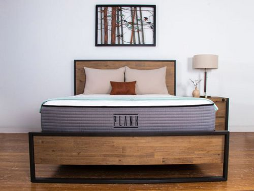 This 2-sided mattress by Brooklyn Bedding is the only truly firm one I've found since returning from Asia - if 'firm' is never firm enough for you, this one might actually work