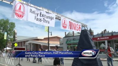 WATCH: Runners tackle Gate City Marathon