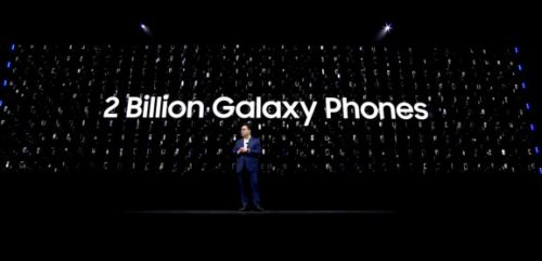 Samsung has sold 2 billion Galaxy smartphones