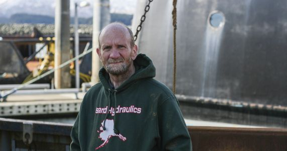 Kodiak man dives into scallop fishery
