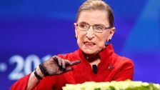 Outpouring Of Grief As Nation Mourns 'Hero' And 'Titan' Ruth Bader Ginsburg