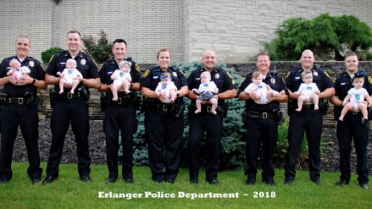 'There's something in the water:' NKY police department sees baby boom