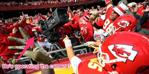 Tyreek Hill takes over TV camera and films his own penalty flag in epic touchdown celebration