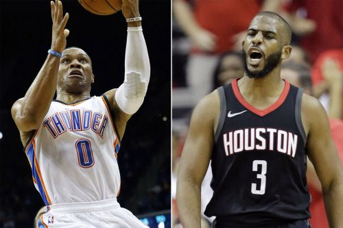 Thunder trade Russell Westbrook to Rockets for Chris Paul