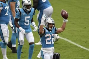Carolina comeback hopes fade when injured McCaffrey leaves