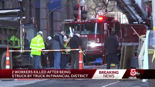 2 workers die in construction site incident in Boston