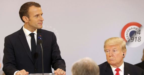 "France fires back at Trump's lack of ""common decency"""