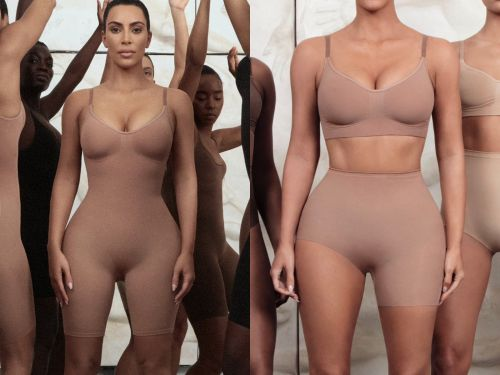 People are calling out Kim Kardashian for releasing a shapewear line called 'Kimono,' and for only using slim models to promote it