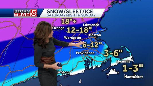 Video: Winter storm will produce a lot of snow