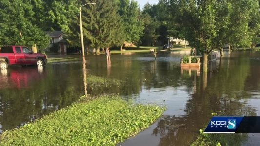 Residents in small flooded town fear next round of storms