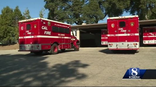 75 firefighters mobilized in Santa Cruz County, awaiting the call to the fire lines