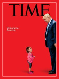 US officials say girl on Time cover isn't separated from mom; Magazine issues correction