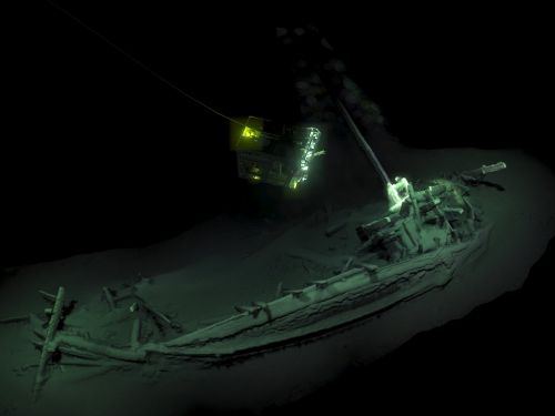 The world's oldest intact shipwreck has been found in the Black Sea - and it's more than 2,400 years old