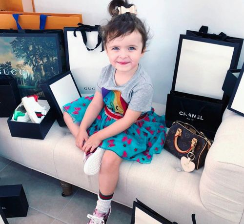 This 3-year-old Instagram star has a £2,800 cubby house complete with a grand piano, flat screen TV, and crystal chandelier - take a look inside