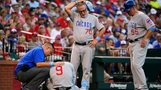 Javier Baez injury update: Cubs infielder leaves game with left elbow bruise