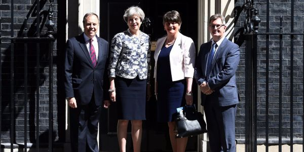 Theresa May suggests Northern Ireland could remain in the Customs Union after Brexit