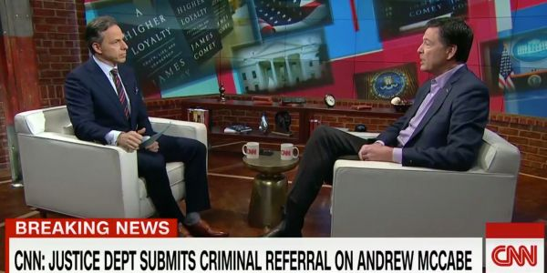 'Isn't that a little cute?': CNN's Jake Tapper grills James Comey in a tough interview on his new book