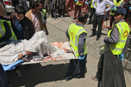 At least 31 dead after bombing at Afghanistan voting center