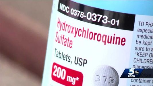 Oklahoma seeking to return $2 million worth of hydroxychloroquine