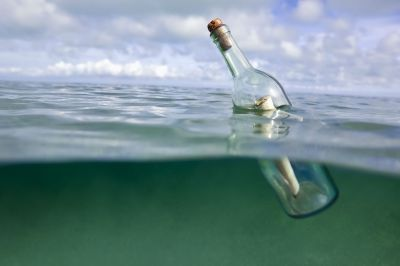 Message in a bottle sent out to sea is found 5 decades later