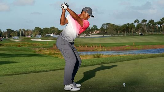 Results from Tiger Woods' Round 3 at the Honda Classic