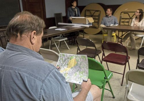 Sparse turnout in Greene County for hearing on proposed coal waste facility